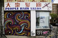 Can you make my hair do that (aerojad) Tags: eos canon 80d dslr 2017 city urban toronto canada vacation travel wanderlust kensingtonmarket streetphotography mural art artinpublicplaces publicart