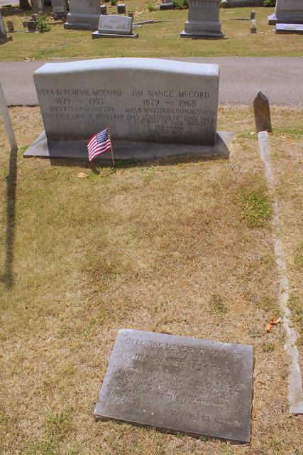 Burial Site of Gov. Jim Nance McCord