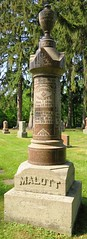 Malott, Leonard 1841 - 1927 (Hear and Their) Tags: fraternal grave stones markers oddfellows masonic mason freemason kingsville ontario greenhill cemetery