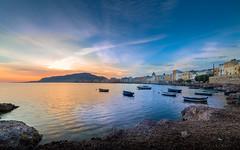 Sunset in Trapani (Michele Naro) Tags: sunset trapani sicily sicilia sizilien sicile sea samyang14mmf28 see nikon nikond610 italien italy italia italie iamnikon