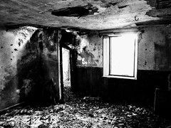 ABANDONED COTTAGE, DUMFRIESSHIRE (pajacksonartist) Tags: urbex old abandoned cottage dumfriesshire scotland interior room home house ruin ruined decay