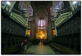 Des del cor, Catedral de Sta. María, León (España)