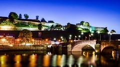 Bridge Blue Hour (YᗩSᗰIᘉᗴ HᗴᘉS +6 500 000 thx❀) Tags: bridge namur namurbynight blue bluehour belgium belgique hensyasmine night meuse