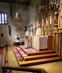 Trinity Sunday 2017 (Saint John's Church, Passaic, New Jersey) Tags: saintjohnschurchpassaicnewjerseyusa episcopal episcopales anglican anglicanos anglocatholic anglocatolicos sungmass misacantada altar chasuble casulla incense incienso trinitysunday