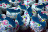 ...sugary aqua attack... (carbumba) Tags: cupcake cupcakes blue sugar treat desert candy food