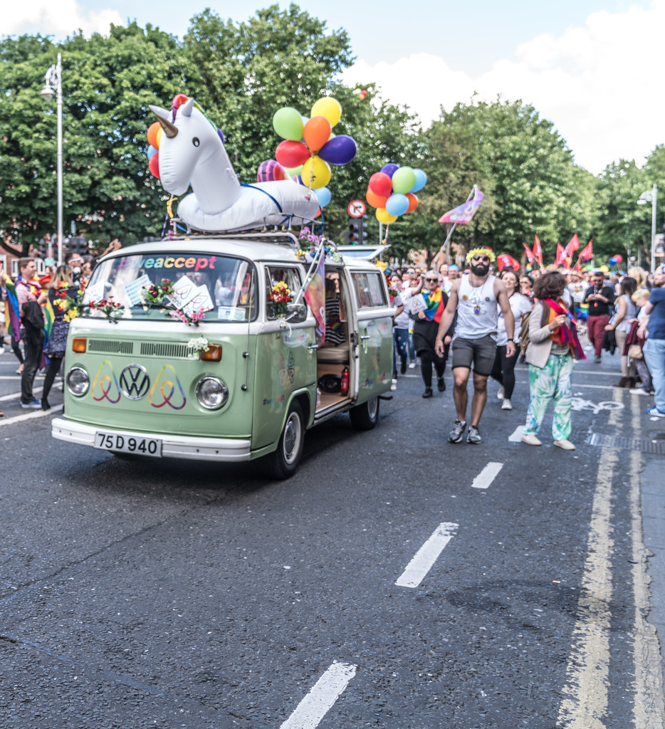 LGBTQ+ PRIDE PARADE 2017 [ON THE WAY FROM STEPHENS GREEN TO SMITHFIELD]-129990