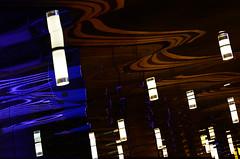 Movement (DJ Axis) Tags: plafond lumiere vague luminaire miroir haut reflet montréal ceiling light wave fixture mirror top reflection montreal