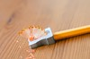 Lápices. (inma F) Tags: afilador amarillo color colores lapiz naranja stilllife pencil orange madera wood school