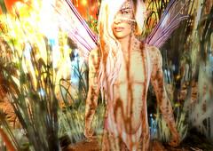 Flower Child (Niki Wirefly) Tags: fae fairy fairey faerie male fantasy colour secondlife wings niki sl