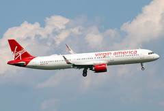 N921VA (JBoulin94) Tags: n921va virgin america airbus a321neo a321 neo washington ronald reagan national airport dca kdca usa virginia va john boulin