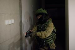 Lotar Counter-Terrorism Unit in (Israel Defense Forces) Tags: lotar counterterrorism specialforces unit urbanwarfare idfurbanwarfaretrainingfacility hostage save saving night building gun handgun