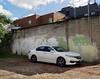 Presentability (geowelch) Tags: queenstreetwest toronto urbanfragments urbanlandscape automotive car hondacivic wall shadow panasoniclumixgx1 panasoniclumixgvario1232mm cinderblock
