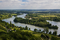 Les boucles de la Seine (The Ant Photos) Tags: trees sky landscape lake water reflection nature river travel island europe house tree summer wood france skyline countryside hill panoramic reportage outdoors houses natural light normandie assignment photograph no person