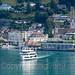 MS Diamant Motor Vessel on Lake Lucerne, Vitznau, Switzerland