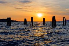 Sunset at lake Trasimeno (Johan Konz) Tags: sunset lake lago lagotrasimeno sanfeliciano umbria italy orange sky landscape outdoor water waterscape silhouette endorheiclake nikon d90
