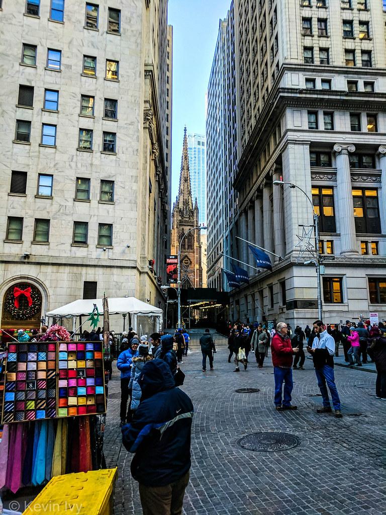 8ed6674a014e Wall Street (City Edits) Tags  nyc newyork christmas wallstreet city  buildings people architecture