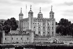 The Tower of London (WilliamND4) Tags: toweroflondon england blackandwhite bw castle nikon d750