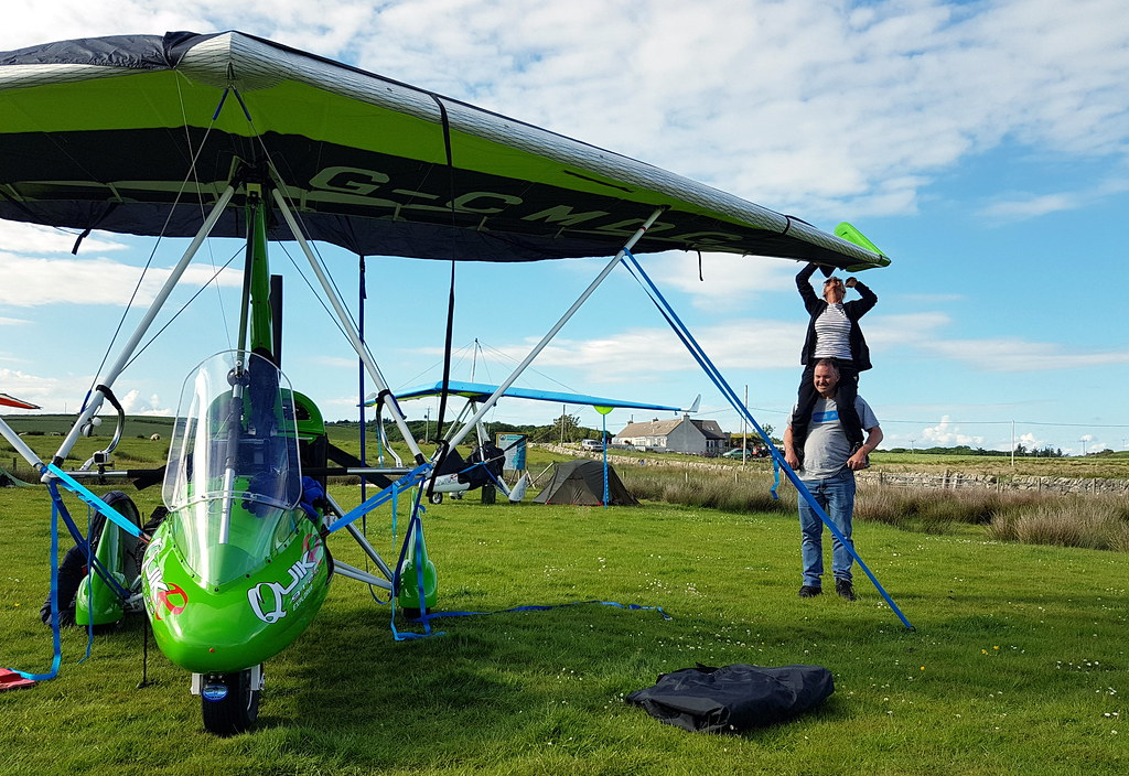 Acrobatic wing covering by Colin and Sharon
