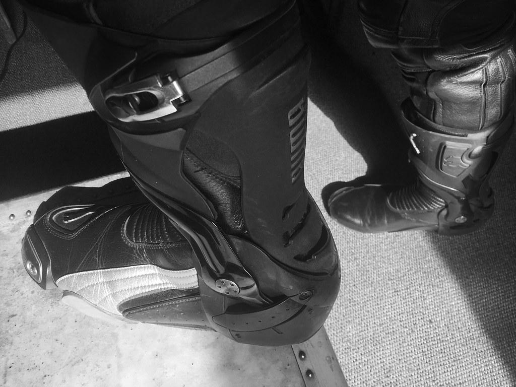 fb52a68f7b1 Bottes Puma (Photogestion) Tags  botte cuir puma boot leather biker motard
