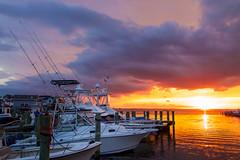 Summer Sunset (joscelyn_p) Tags: oceancity oceancitymaryland ocmd maryland md sunset sunsets boats canon lightroom