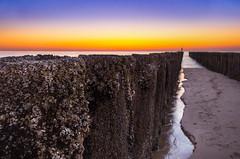 Sunset (dkphotographs) Tags: sun sundown sunlight sunsethdr sea seaside seascape landscape netherlands domburg water sand beach coast shore sonyalpha57 sunset