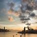 Sunset+over+Hong+Kong