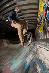 Nico, nosegrind (Fabio Stoll) Tags: bs smithgrind bern oldtown skateboarding skate skatephotography skateboard slide sony alpha 99 zeiss 85mm f14 godox ad360 switzerland ajvt metz flash bowl pixelking triggers reitschule outdoor