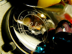 Bottoms up (silvia07(very busy)) Tags: clock bijoux macromondays reflections orologio macro mm hmm bottomsup