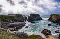 Le Fort de Sarah Bernard - pointe des Poulains (delphine imbert) Tags: bretagne belle ile en mer ocean atlantique eau histoire écrivain monuments historique nature