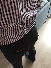 lunch break from work (jeremy.jay1231) Tags: gayass bubblebutt dresspants