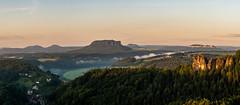 Panorama (matthias_oberlausitz) Tags: lilienstein königstein papststein gohrisch gans felsen rathen elbsandsteingebirge sächsische schweiz