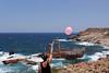 i swear this moment i was infinite. (_Eva_Strpl_) Tags: ghostship landscape portrait balloon sea beach ocean coast shipwreck