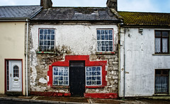 Good, ugly, and so-so (Tiigra) Tags: 2012 architecture color door ireland roof ruin town window ie