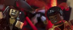 Aaaah kraken! Aaaah rathtar! (tomtommilton) Tags: lego toy toyphotography starwars theforceawakens finn rathtar pirates caribbean captain jack sparrow kraken mashup movie cinematic