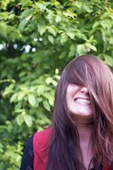 Xenomorphian (Magnus Bergström) Tags: diax diaxia ia fujicolorsuperia100 fujicolor fuji superia 100 superia100 värmland sweden sverige idanil00 woman hair portrait teeth smile