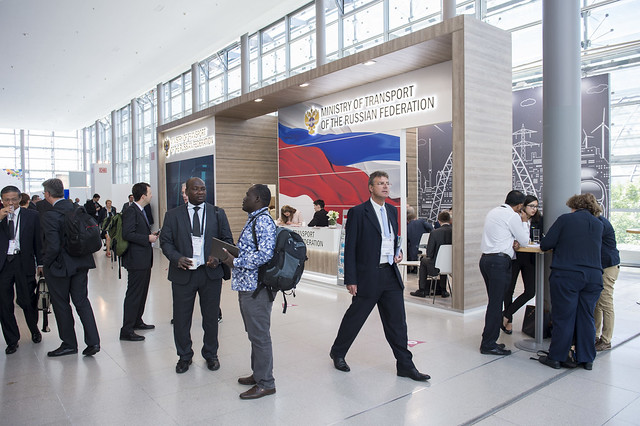 Ministry of Transport of the Russian Federation stand
