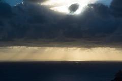 light up (pat.netwalk) Tags: light sea stromboli calabria seascape skys copyrightpatrickfrank bildgutch weather lights color