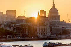 Every time. (vipmig) Tags: sunrise river london uk england stpaulscathedral urban city architecture beginning time