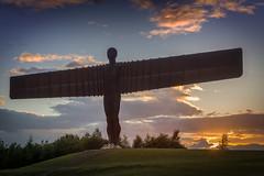 Angel of the North (DM Allan) Tags: angelofthenorth angel gateshead anthonygormley sculpture sunset