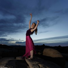 Hear the Whispers in the Wind - Joshua Tree National Park with Marine de Vachon (Kent Freeman) Tags: joshuatreenationalpark marinedevachon canon eos 5d mark iii ef1740mm f4 l usm ef 1740mm joshua tree national park marine de vachon urban ballet dance