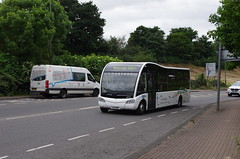 IMGP1384 (Steve Guess) Tags: byfleet surrey england gb uk bus optare solo theheights courtney cobham chatterbus
