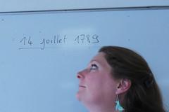 revolution (Djuliet) Tags: 365days selfportrait year11 blackboard whiteboard 1789 revolution classroom