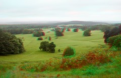 Longleat Estate in 3d (Somerset Bloke) Tags: longleatestate longleat wiltshire panoramicviews 3d anaglyph england