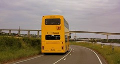 Beside the Orwell (Chris Baines) Tags: jr travel volvo olympian s678 pag river orwell suffolk freston shore