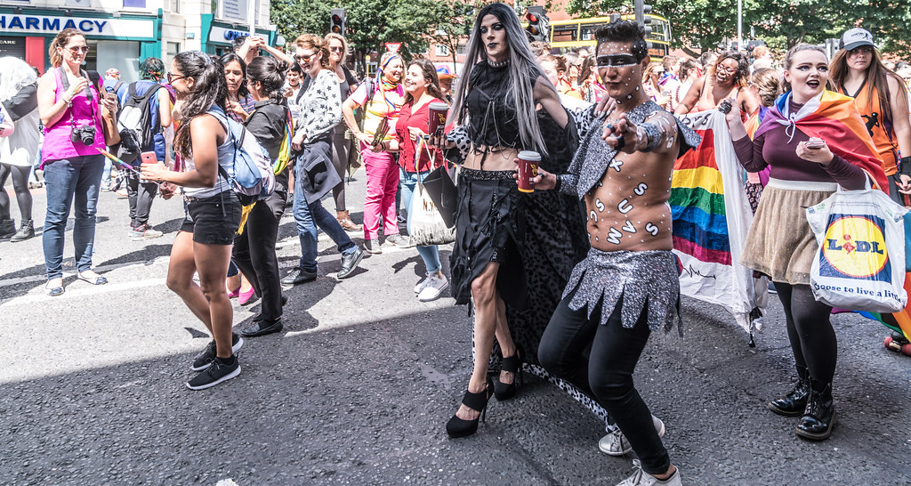 LGBTQ+ PRIDE PARADE 2017 [ON THE WAY FROM STEPHENS GREEN TO SMITHFIELD]-130150