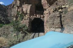 Tunnel (Arrowhead Fan) Tags: verdecanyonrailroad arizona vcrr fp7 emd tunnel