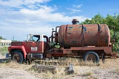 Ford tanker, Grandfalls, Texas. June, 2017 (adamkmyers) Tags: fordtruck grandfalls westtexas texas