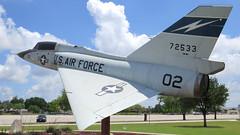 Convair F-106 Delta Dart (Flagman00) Tags: kellyafb kellyfield usaf sanantoniotx airbase military aircraft static display historic coldwar kellyusa convair f106 deltadart fighter interceptor