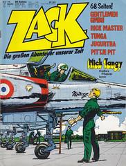 ZACK / 1977 Nr. 7 (micky the pixel) Tags: comics comic heft koralleverlag zack albertuderzo tanguyetlaverdure micktangy pilot militär jet düsenjäger mirage