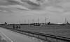 Stormvloedkering - Hoek van Holland (w.vandervet) Tags: stormvloedkering hoek van waterweg black white ngc holland